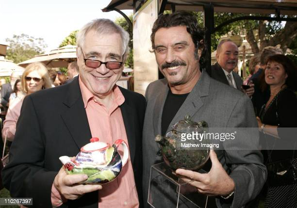 Brian Cox and Ian McShane during 3rd Annual BAFTA Tea Party Honoring Emmy Nominees at Park Hyatt Hotel in Century City California United States