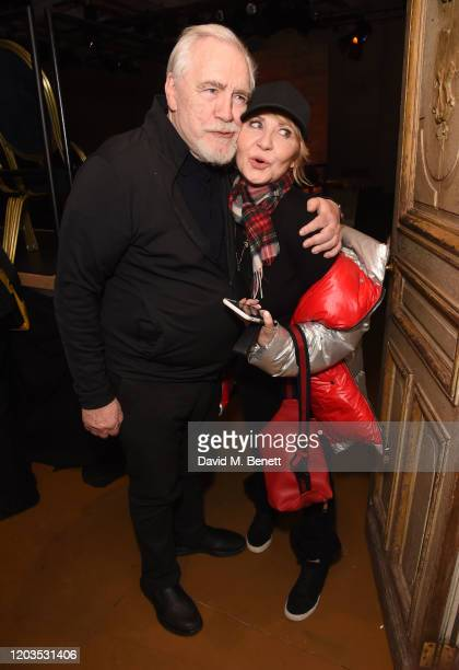 Brian Cox and Lulu attend the press night after party for Sinners at the Playground Theatre on February 26 2020 in London England