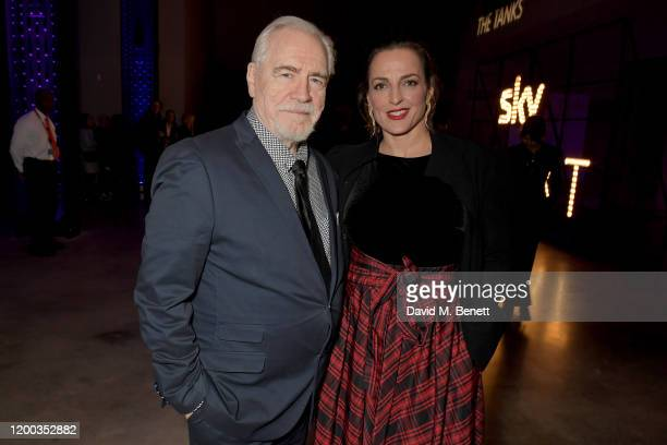 Brian Cox and Nicole Ansari attend the Sky TV Up Next Event at Tate Modern on February 12 2020 in London England Up Next is Skys inaugural showcase...