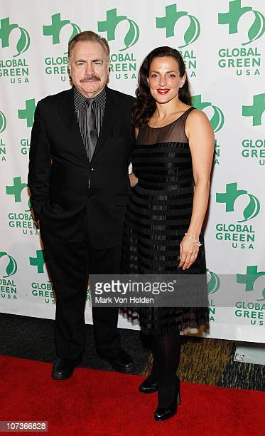 Brian Cox and Nicole Ansari attends the 2010 Global Green USA Sustainable Design Awards at Pier 60 on December 6 2010 in New York City