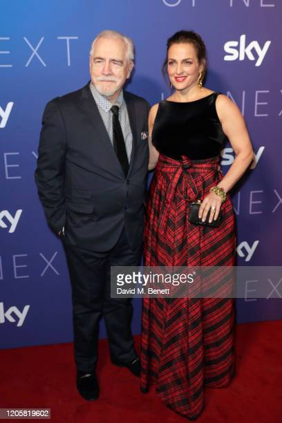 Brian Cox and Nicole Ansari attends the Sky TV Up Next Event at Tate Modern on February 12 2020 in London England Up Next is Sky's inaugural showcase...
