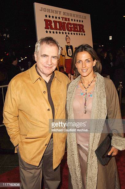Brian Cox and Nicole Ansari during Fox Searchlight Pictures' The Ringer Los Angeles Premiere at Directors Guild of America in Hollywood California...