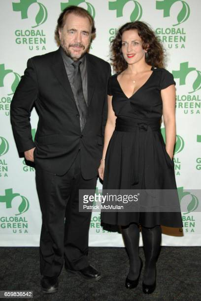 Brian Cox and Nicole AnsariCox attend GLOBAL GREEN USA presents the 10th ANNUAL SUSTAINABLE DESIGN AWARDS at Pier Sixty at Chelsea Piers on November...