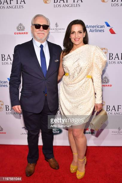 Brian Cox and Nicole AnsariCox attend The BAFTA Los Angeles Tea Party at Four Seasons Hotel Los Angeles at Beverly Hills on January 04 2020 in Los...