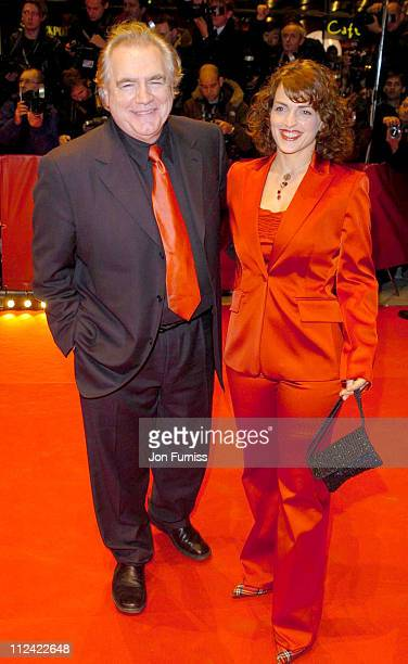 Brian Cox and wife during 2004 Berlin Film Festival Cold Mountain Premiere Arrivals at Berlianle Palast in Berlin Germany