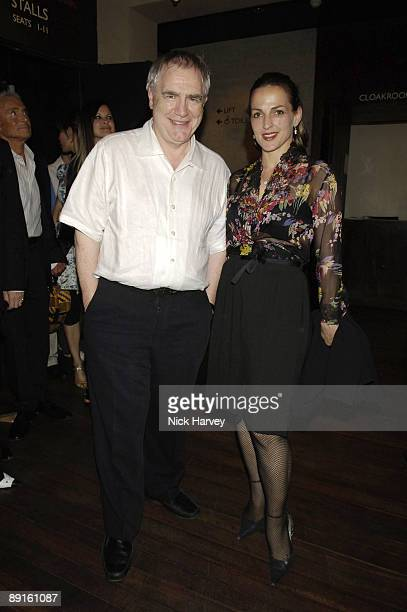 Brian Cox and Wife