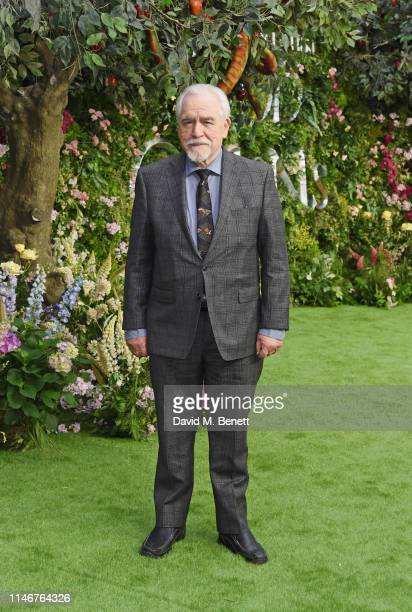 Brian Cox attends the World Premiere of new Amazon Original Good Omens at the Odeon Luxe Leicester Square on May 28 2019 in London England