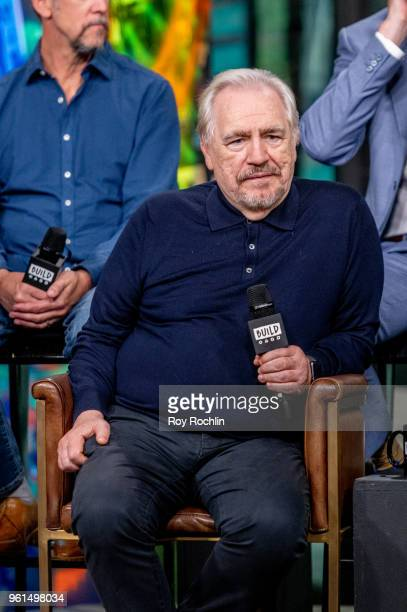 Brian Cox discusses 'Succession' with the Build Series at Build Studio on May 22 2018 in New York City