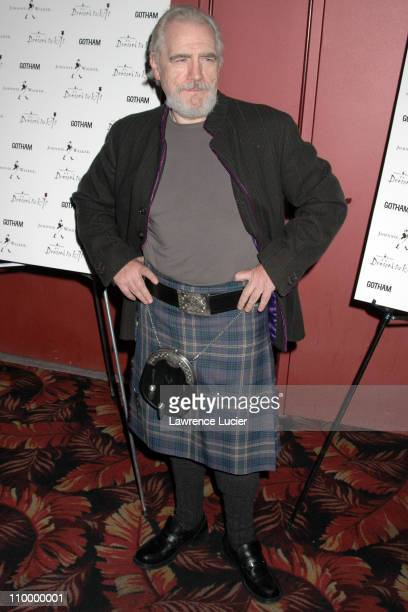 Brian Cox during Johnnie Walker Presents Dressed to Kilt Arrivals and Runway at Copacabana in New York City New York United States