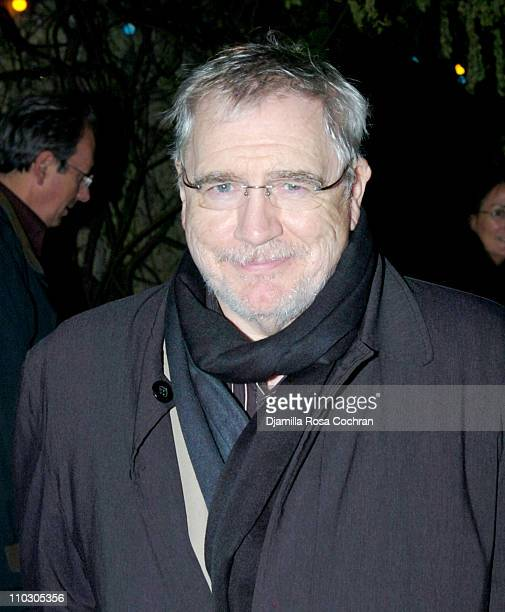 Brian Cox during Opening Night of My Name is Rachel Corrie After Party at Bowery Bar in New York City New York United States