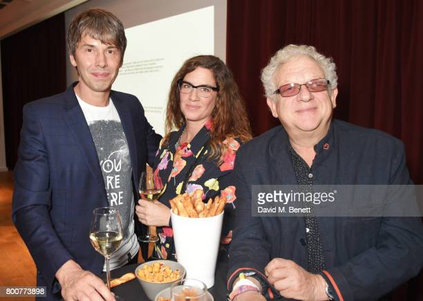 Brian Cox Gia Milinovich and Jeremy Thomas attend the BFI Southbank's tribute to Sir John Hurt on June 25 2017 in London England