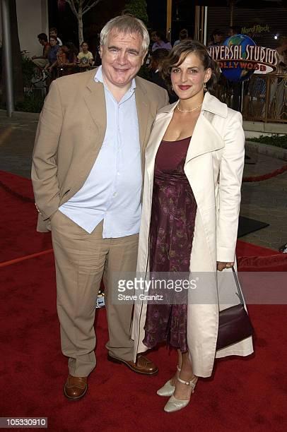 Brian Cox Nicole Ansari during The Bourne Identity Premiere at Loews Cineplex Universal Studios Cinema in Universal City California United States