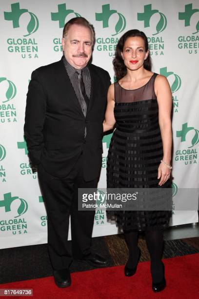 Brian Cox Nicole AnsariCox attend GLOBAL GREEN USA's 11th Annual Sustainable Design Awards at Pier 60 at Chelsea Piers on December 6th 2010 in New...