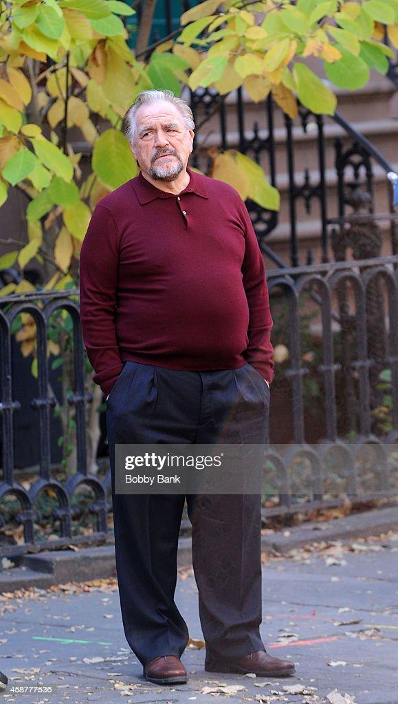 Celebrity Sightings In New York City - November 10, 2014 : News Photo