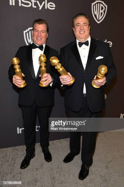 Brian Currie and Nick Vallelonga attend the 2019 InStyle and Warner Bros 76th Annual Golden Globe Awards PostParty at The Beverly Hilton Hotel on...