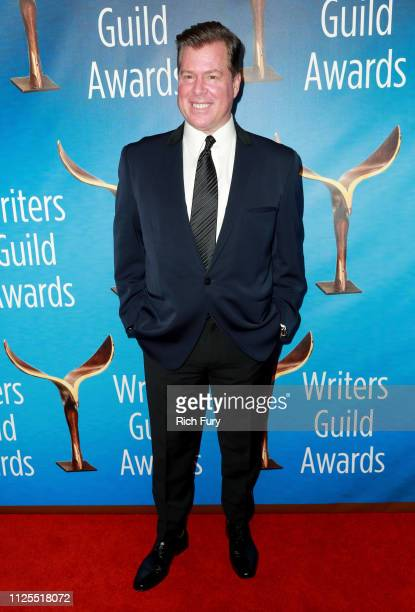 Brian Currie attends the 2019 Writers Guild Awards LA Ceremony at The Beverly Hilton Hotel on February 17 2019 in Beverly Hills California