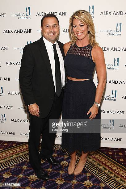Brian Curtis news anchor Brooke Baldwin attend Tuesday's Children Roots of Resilience Gala 2015 on September 10 2015 in New York City