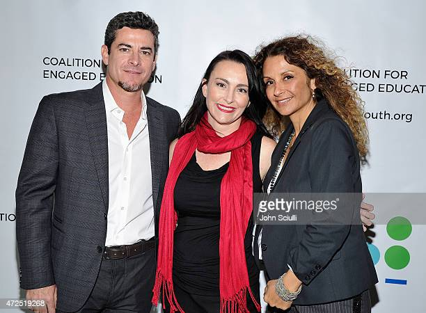 Brian Daly Kevin Kate McQuhae and Cindy Daly attend Coalition for Engaged Education 2nd Annual Poetic Justice 2015 fundraiser event on May 7 2015 in...