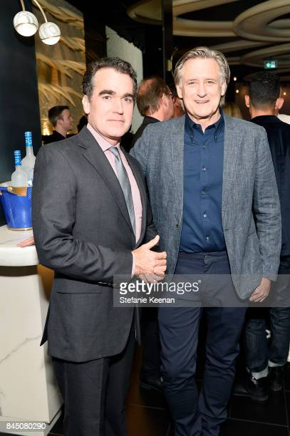 Brian d'Arcy James and Bill Pullman attend the Creative Coalition's 2017 Spotlight Initiative Gala Awards Dinner hosted by the Nordstrom Supper Suite...