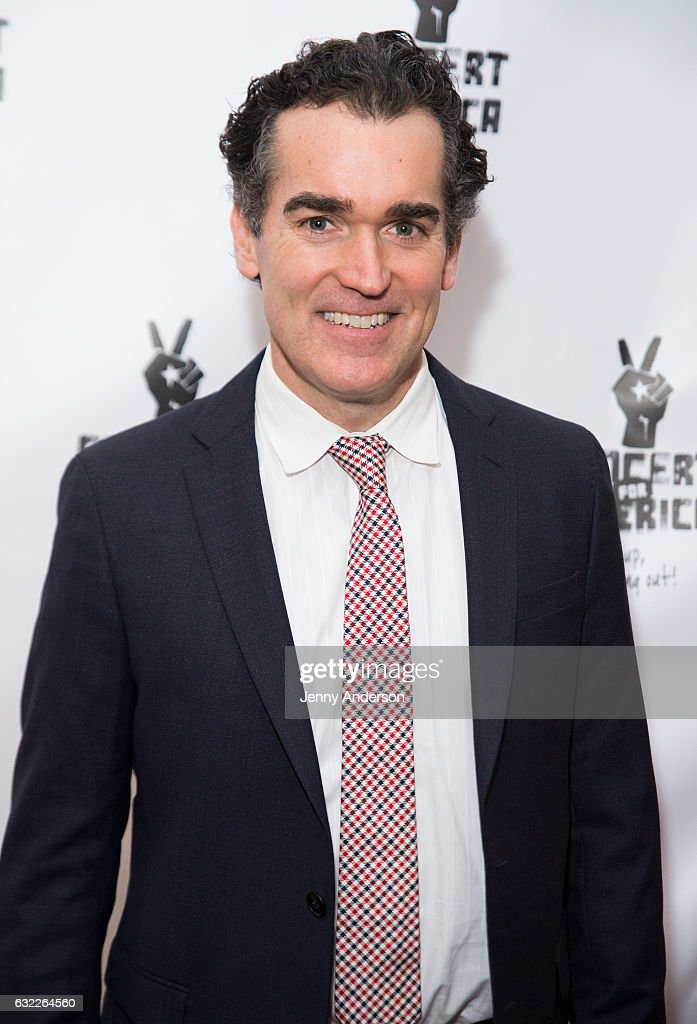 Brian d'Arcy James attends Concert For America: Stand Up, Sing Out! at Town Hall on January 20, 2017 in New York City.
