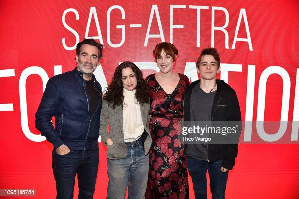 Brian d'Arcy Melissa Miller Costanzo Molly Ringwald and Sam McCarthy attend the SAGAFTRA Foundation Conversation 'All These Small Moments' at The...