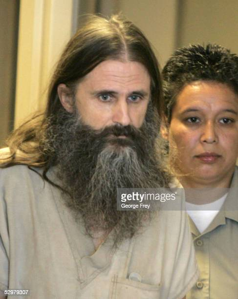 Brian David Mitchell walks into the courtroom of Judge Judith Atherton at the Matheson Courthouse May 25 2005 in Salt Lake City Utah Mitchell is...