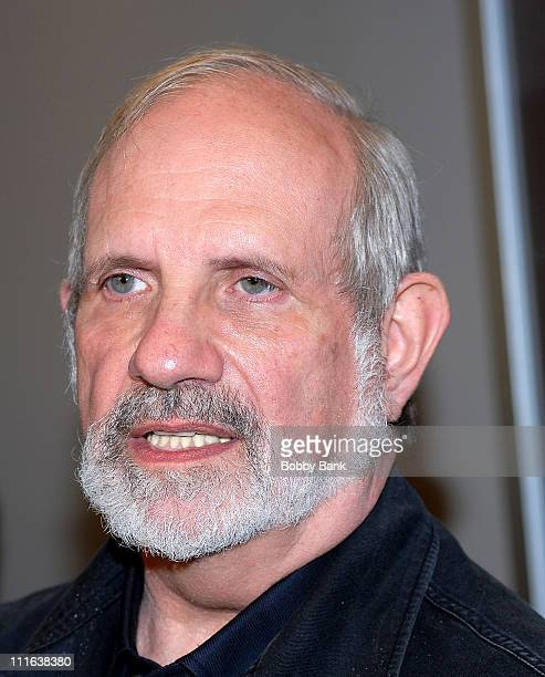 Brian De Palma attends the 45th New York Film Festival premiere of Redacted at Frederick Rose Hall October 10 2007