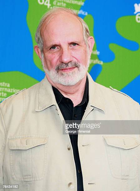 Brian De Palma director attends the Redacted Photocall in Venice during day 3 of the 64th Venice Film Festival on August 31 2007 in Venice Italy