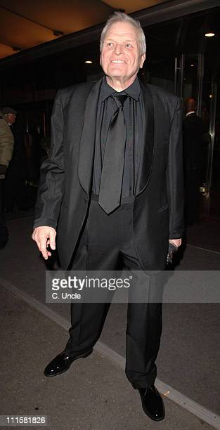 Brian Dennehy during 2006 Laurence Olivier Awards - Departures at Hilton Hotel in London, Great Britain.
