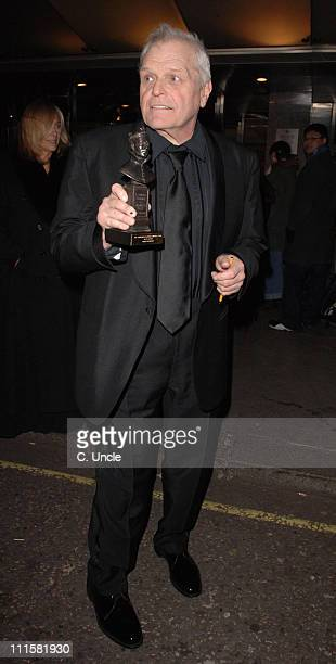 Brian Dennehy during 2006 Laurence Olivier Awards Departures at Hilton Hotel in London Great Britain