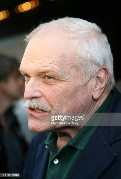 Brian Dennehy during Everyone's Hero New York City Premiere Arrivals at AMC Loews Lincoln Square in New York New York United States