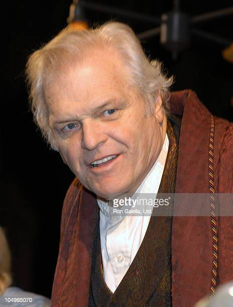 "Brian Dennehy during Opening Night of ""Long Day's Journey into Night"" at Eugene O'Neill's in New York City, New York, United States."