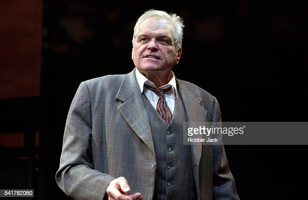 Brian Dennehy in the production Death of a Salesman at the Lyric Theater in London. Written by Arthur Miller.