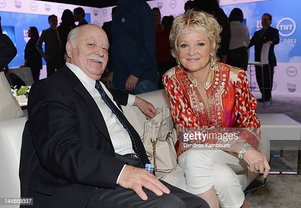 Brian DoyleMurray and Christine Ebersole attend the TNT/ TBS Upfront 2012 at Hammerstein Ballroom on May 16 2012 in New York City 22362_003_0153JPG