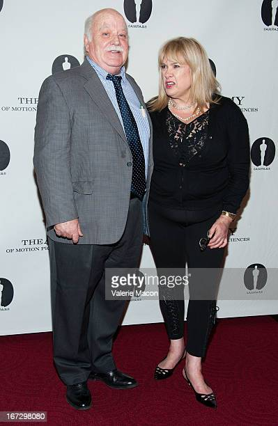 Brian DoyleMurray and Colleen Camp attends Academy Of Motion Picture Arts And Sciences Hosts A Wayne's World Reunion at AMPAS Samuel Goldwyn Theater...