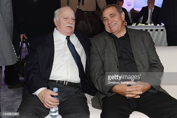 Brian DoyleMurray and Dan Lauria attend the TNT/ TBS Upfront 2012 at Hammerstein Ballroom on May 16 2012 in New York City 22362_003_0018JPG