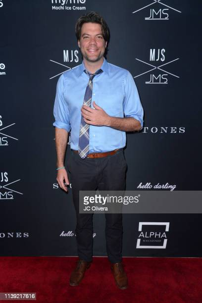 Brian Drolet attends Matt Sarafa and Jonathan Marc Stein's new 'Rich' clothing line release and fashion show on March 29 2019 in Los Angeles...