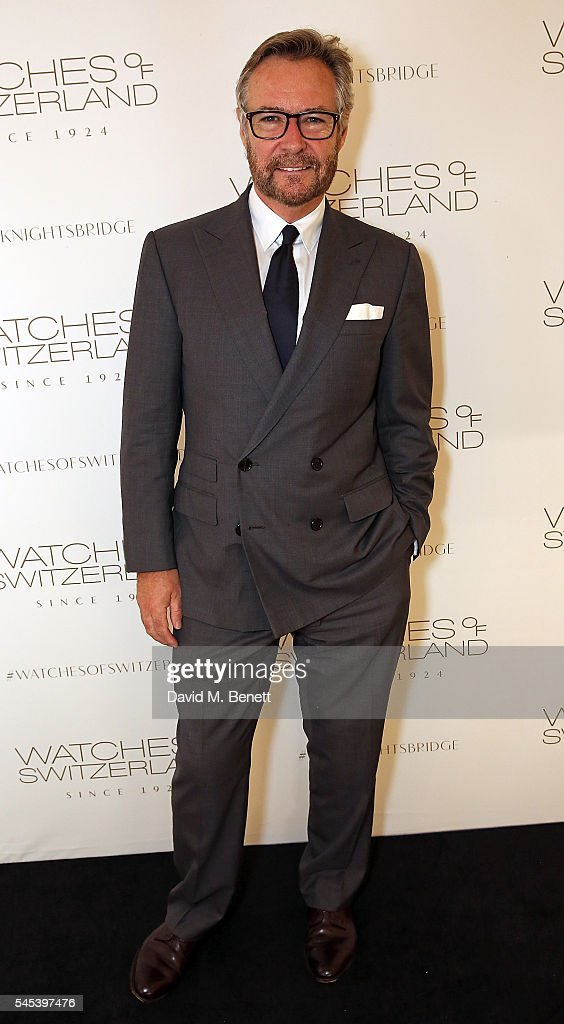 Brian Duffy attends Watches Of Switzerland Knightsbridge Launch on July 7, 2016 in London, England.