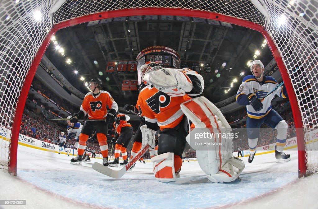 St Louis Blues v Philadelphia Flyers