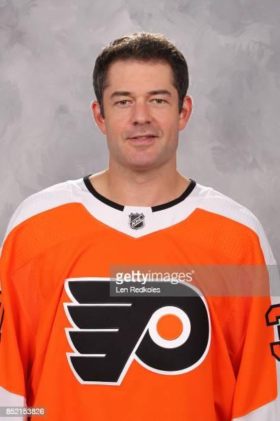Brian Elliott of the Philadelphia Flyers poses for his official headshot for the 20172018 season on September 14 2017 at the Virtua Flyers Skate Zone...