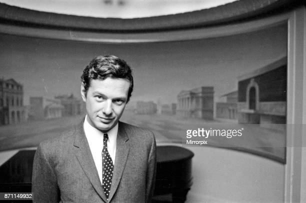 Brian Epstein pictured inside The Saville Theatre Shaftsbury Avenue London Mr Epstein has bought a controlling interest in the theatre 11th June 1965