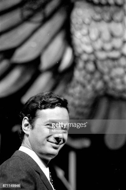 Brian Epstein pictured intside The Saville Theatre Shaftsbury Avenue London Mr Epstein has bought a controlling interest in the theatre 11th June 1965