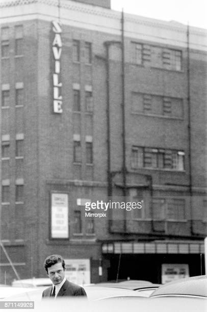 Brian Epstein pictured outside The Saville Theatre Shaftsbury Avenue London Mr Epstein has bought a controlling interest in the theatre 11th June 1965