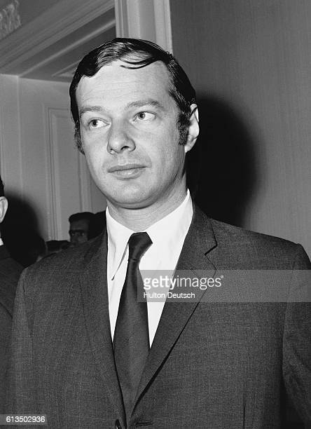 Brian Epstein, the music producer and manager of The Beatles, 1960s.