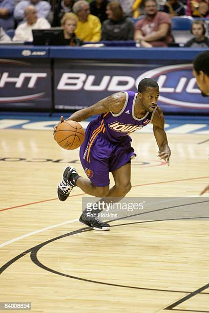 Brian Evans of the Iowa Energy drives on the Erie BayHawks at Tullio Arena on December 5 2008 in Erie Pennsylvania NOTE TO USER User expressly...