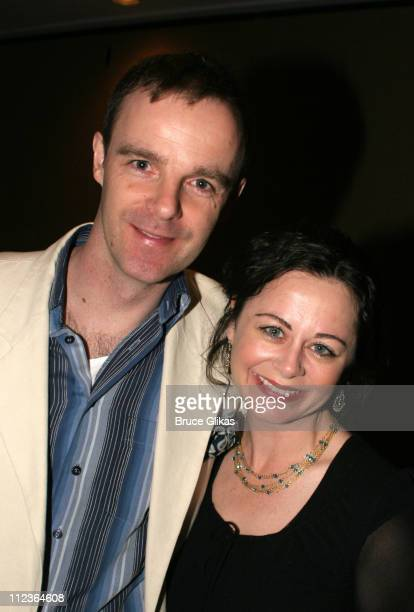 Brian F O'Byrne and Geraldine Hughes during 71st Annual Drama League Awards at Marriott Marquis Hotel in New York NY United States