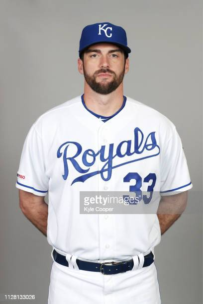 Brian Flynn of the Kansas City Royals poses during Photo Day on Thursday February 21 2019 at Surprise Stadium in Surprise Arizona
