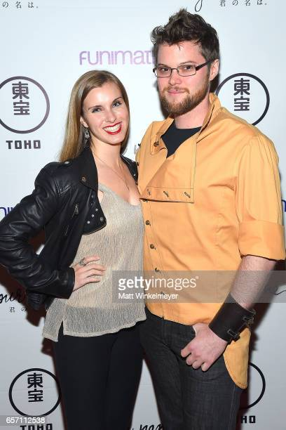 Brian Forrest attends Funimation Films presents 'Your Name' Theatrical Premiere in Los Angeles CA at Yamashiro Hollywood on March 23 2017 in Los...