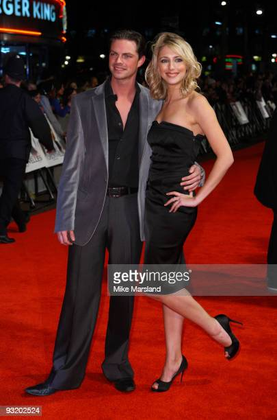 Brian Fortuna and Ali Bastian attend the UK Film Premiere of 'Me Orson Welles' at Vue West End on November 18 2009 in London England