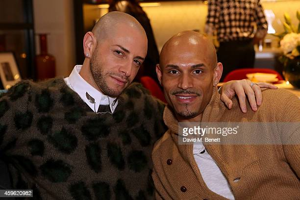 """Brian Friedman and fiance Danny Brown attend an exclusive party to celebrate the imminent arrival of """"City Island by Ballymore"""" - a new island..."""